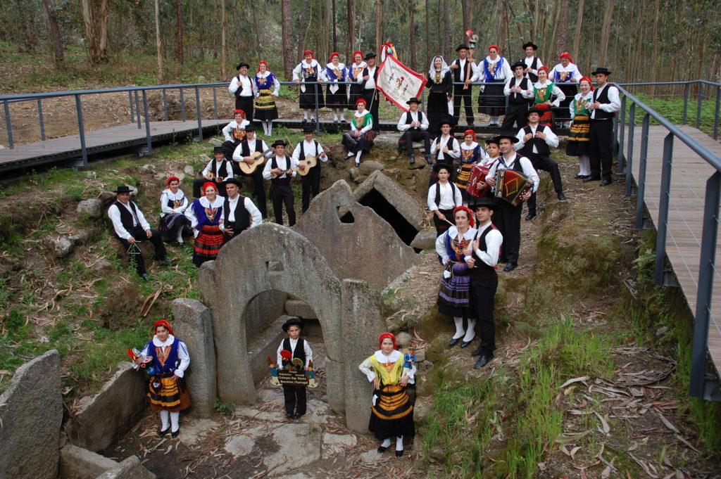 Grupo Folclórico no Balneário Castrejo